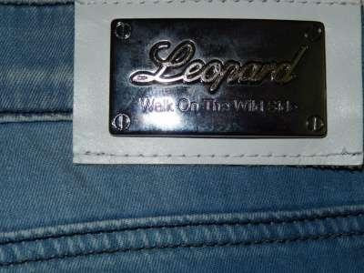 Джинсы (W30) новые LEOPARD