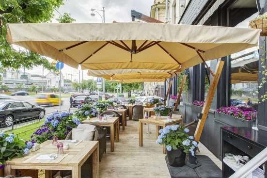 Зонт Ливорно для кафе и пляжа в Краснодаре Фото 5