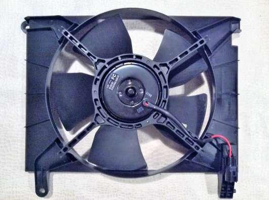 Вентилятор охлаждения 96536521 GM Chevrolet Aveo