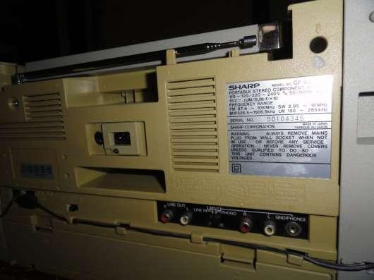SHARP GF 800H(S) - Винтажная магнитола