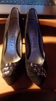 Туфли замшевые размер 35