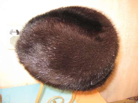 Продаю норковую шапку, формовка размер 57-58