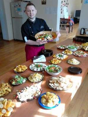 Шеф повар на дом. Организую и провожу семейные банкеты в Москве Фото 1