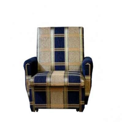 Кресло-кровать Синяя клетка шенилл 70