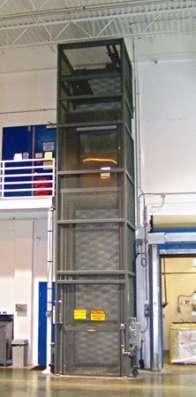 Промышленные подъемники (грузовые лифты)