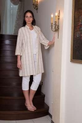 Туника женская 100% лен вышивка марки LOOK в Владивостоке Фото 3