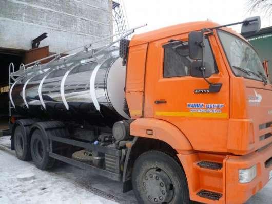 Молоковозы объемом до 10 м3 на шасси МАЗ 5340В2, КАМАЗ 53605 (Евро-4) в Нижнем Новгороде Фото 2