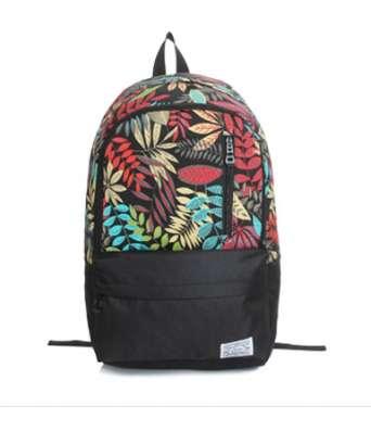 Рюкзак городской с яркими листьями