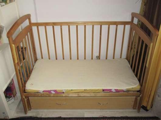 Продам детскую кроватку с маятником продольного качания в Екатеринбурге Фото 5