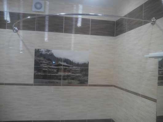 Карнизы, штанги, перекладины для шторки в ванную в Краснодаре Фото 4