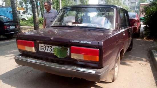 Продажа авто, ВАЗ (Lada), 2107, Механика с пробегом 60000 км, в Сургуте Фото 1