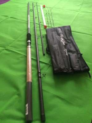 Фидер США (новый) Stop fish 4,2 м., 40-150 гр.