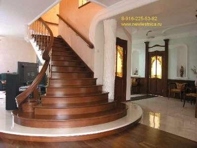 Лестница из дерева. Модели 2016 года! Новая Лестница