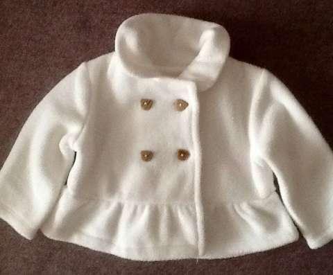 Кардиган-пальто для девочки (0-3 м)