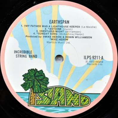 The Incredible String Band – Earthspan