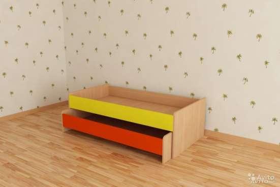 Кровать выдвижная для 2-х детей