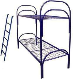 Железные армейские кровати, одноярусные металлические для больниц, бытовок, общежитий, интернатов, школ. Опт от производителя.