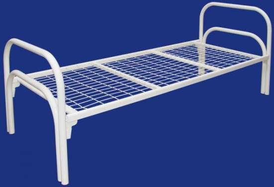 Металлические кровати для бытовок оптом, по низким ценам от производителя.
