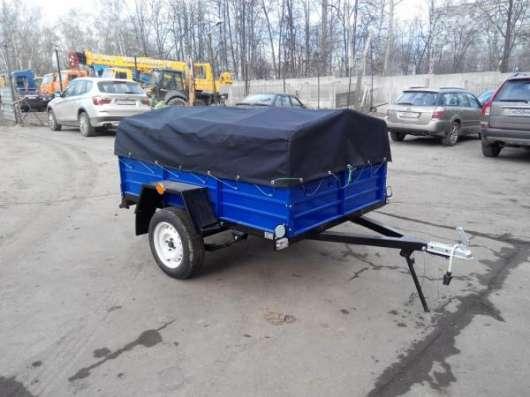 Прицеп КРД 050100 для автомобиля с тентом 2000х1300