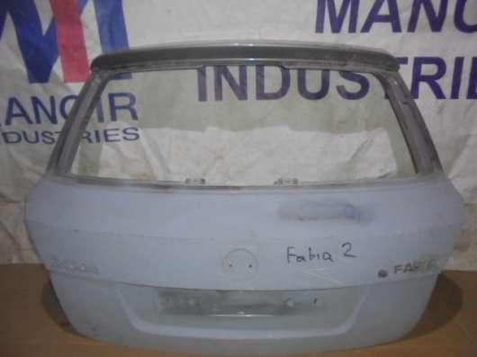 крышка багажника шкода фабия