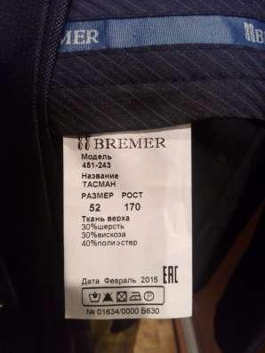Костюм фирмы BREMER классика новый 8000р не носил мал