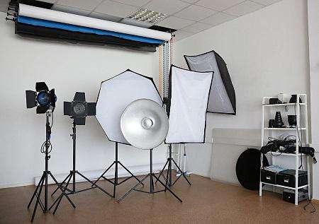 действующую фото-студию