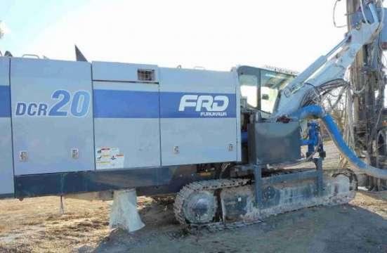 Пневмоударная буровая установка Furukawa DCR20