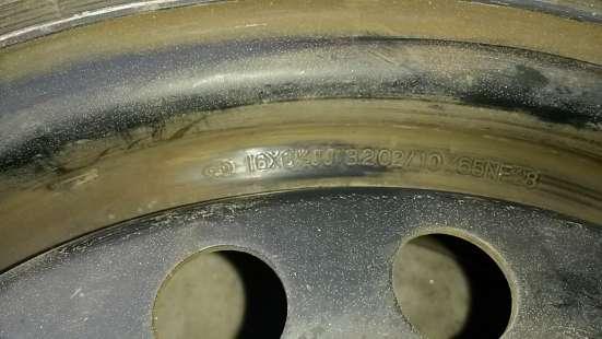 R16 205/55 94V Michelin и диски 5х114- в Красноярске Фото 1