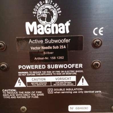 Сабвуфер Magnat Sub 25A (Германия)