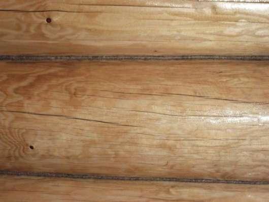 Конопатка от40р.(с материалом) щлифовка срубы кровля