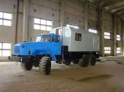ППУ 1600/100 на шасси Урал