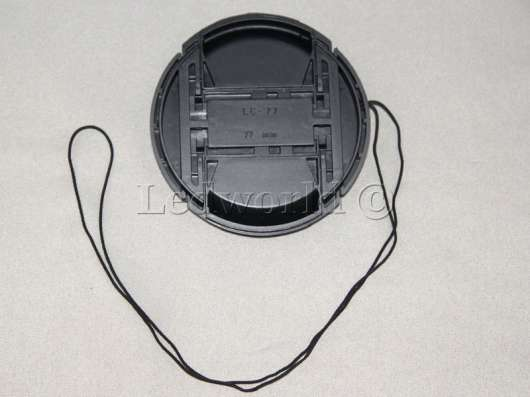 Крышка со шнурком для Nikon 77mm