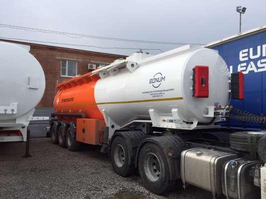 Цистерна бензовоз 28 м3 БОНУМ полуприцеп