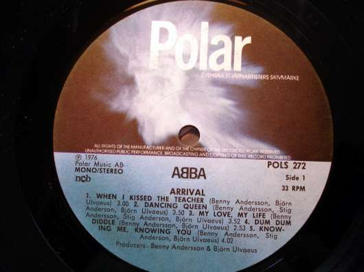 ABBA - Arrival (SW, 1976)