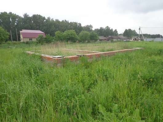 25 соток земли в селе, с фундаментом под дом в г. Михнево Фото 1