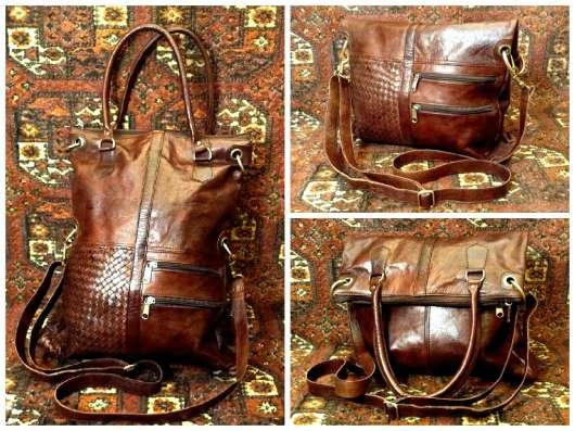Кожаная сумка из Монакко