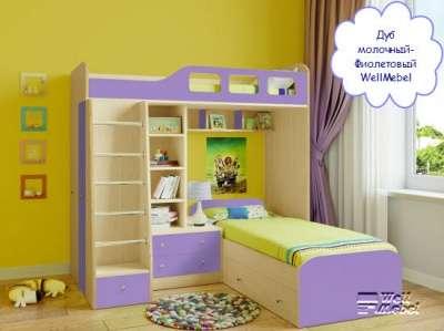 Детская двухъярусная кровать РВ мебель Астра 4 в Москве Фото 4