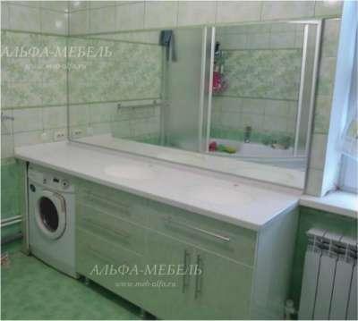 Мебель для ванной на заказ Альфа-Мебель в г. Самара Фото 4
