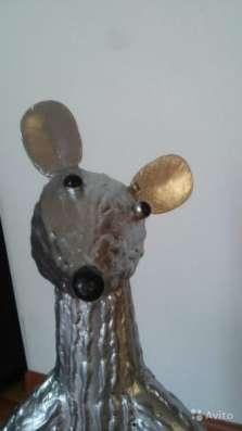 Кованная фигурка крысы