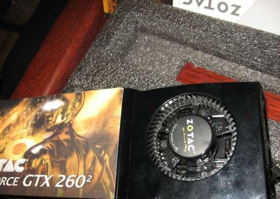 Охлаждение от видео карты Zotac GTX260 в Москве Фото 1
