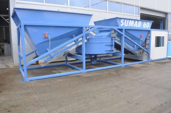 Бетонный завод рбу, бсу Sumab K-60 (Швеция)