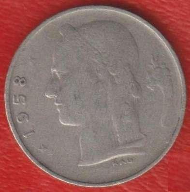 Бельгия 1 франк 1958 г. BELGIQUE в Орле Фото 1