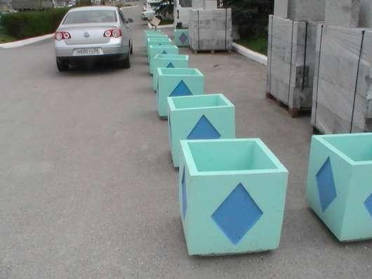 Цветочницы бетонные, парковые (вазоны) в Пятигорске Фото 3