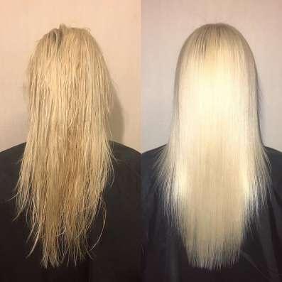Кератиновое выпрямление волос в Москве Фото 5