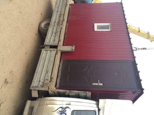 Бытовка (вагончик) для строителей. Доставка бесплатна