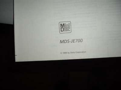 Инструкция для мини-дисковой деки SONY
