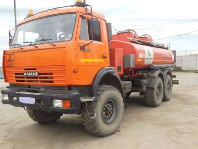 топливозаправщик КАМАЗ 43118