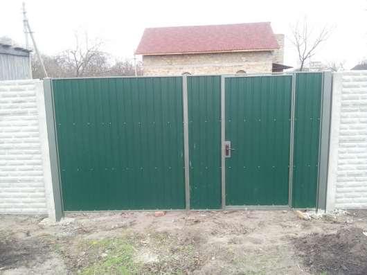 Изготавливаем ворота