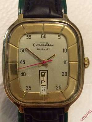 Часы Слава СССР позолота, крупная в Балашихе Фото 3