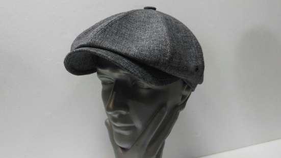 Гаврош восьми клинка кепка мужская (серая) в Москве Фото 3